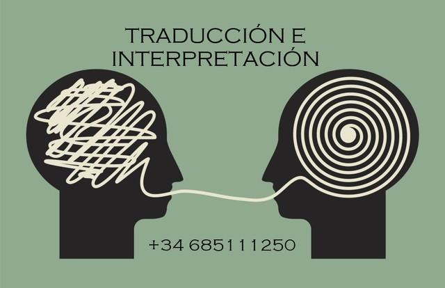 TRADUCTORA E INTÉRPRETE - foto 1