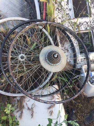 """Llanta Bicicleta 26\"""" Trasera Y Delanter"""