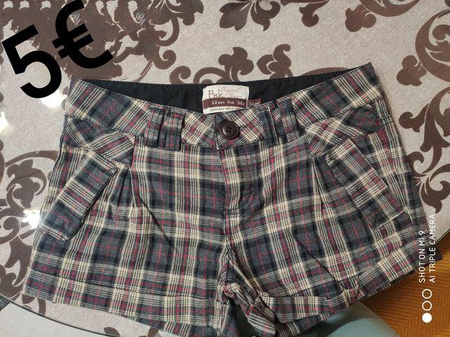 Mil Anuncios Com Pantalones Cortos Mujer Bershka