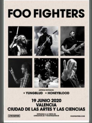 FOO FIGHTERS 2021 - foto 1