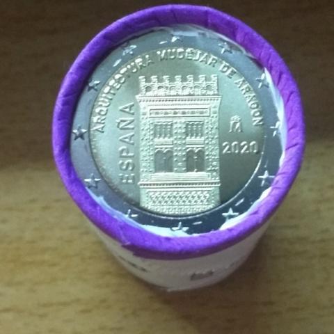 Moneda 2  España 2020
