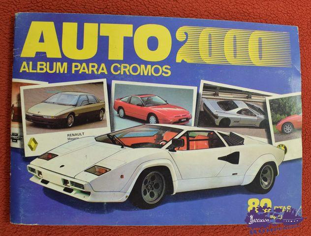 Album De Cromos Auto 2000