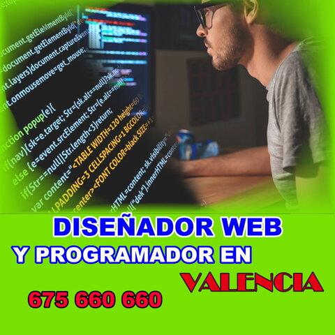 DISEÑADOR WEB Y PROGRAMADOR EN VALENCIA - foto 1