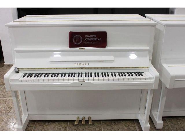 PIANO YAMAHA U3 BLANCO.  TRANSP.  INCLUIDO - foto 1