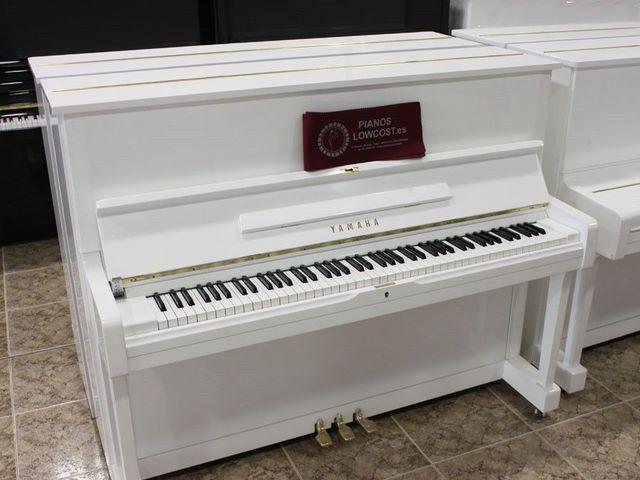 PIANO YAMAHA U3 BLANCO.  TRANSP.  INCLUIDO - foto 2