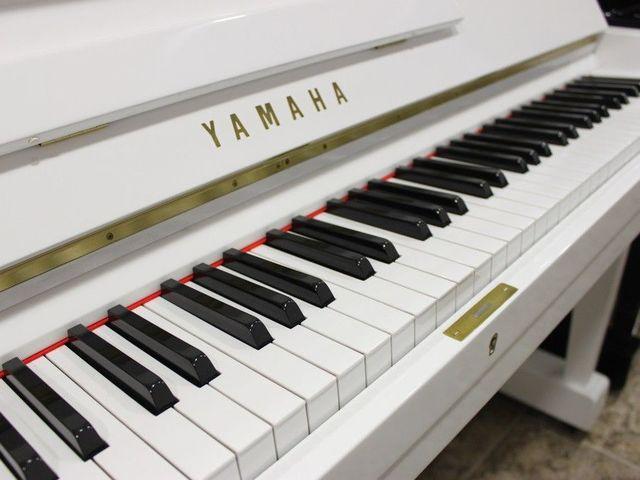 PIANO YAMAHA U3 BLANCO.  TRANSP.  INCLUIDO - foto 3