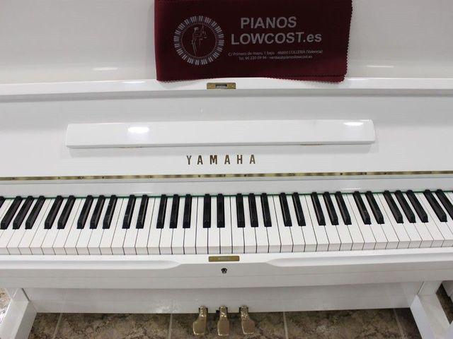 PIANO YAMAHA U3 BLANCO.  TRANSP.  INCLUIDO - foto 6
