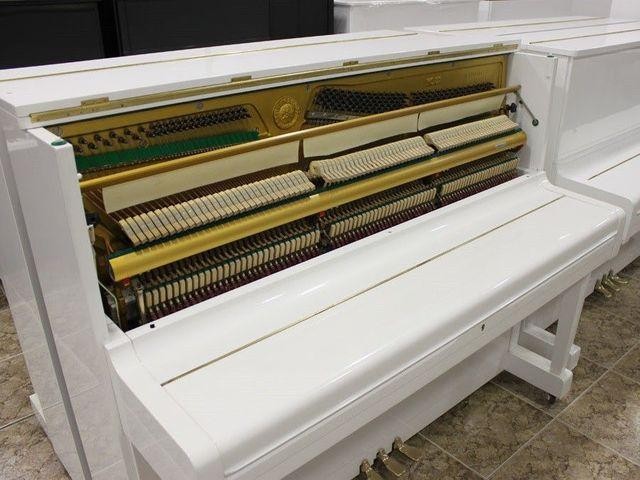 PIANO YAMAHA U3 BLANCO.  TRANSP.  INCLUIDO - foto 7