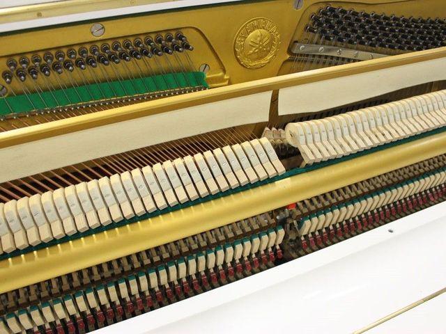PIANO YAMAHA U3 BLANCO.  TRANSP.  INCLUIDO - foto 8