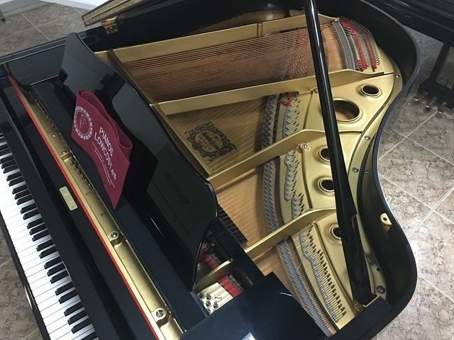 PIANO COLA YAMAHA G2.  TRANSPORTE INCLUID - foto 6