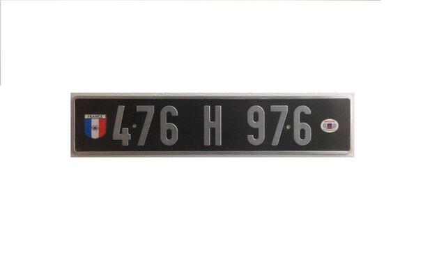Matricula Suiza Canton San Galo