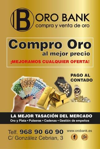 OROBANK.  COMPRO ORO AL MEJOR PRECIO.  - foto 6