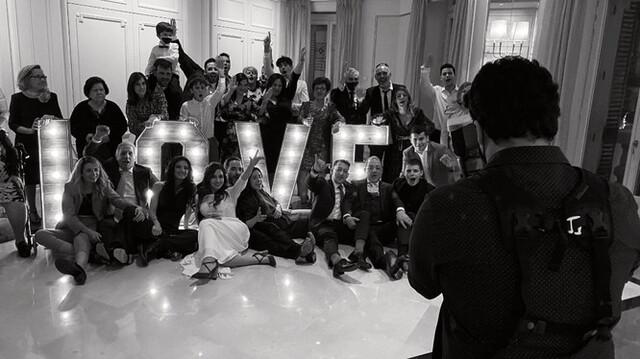 LETRAS LOVE VINTAGE BODAS - foto 1