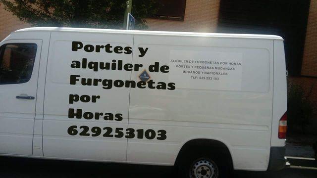 PORTES DESDE10 ALQUI FURGONET POR HORAS - foto 1