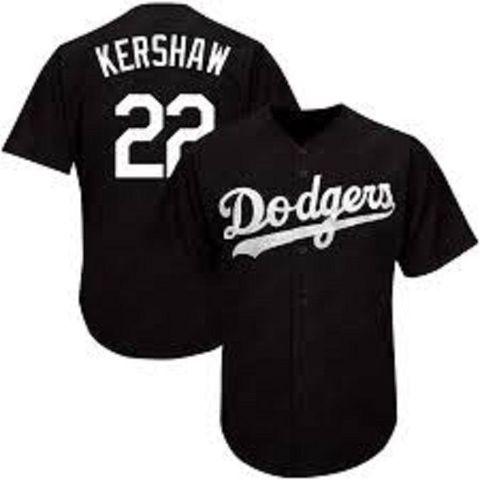 BEISBOLERA MLB DODGERS KERSHAW NEGRA - foto 1