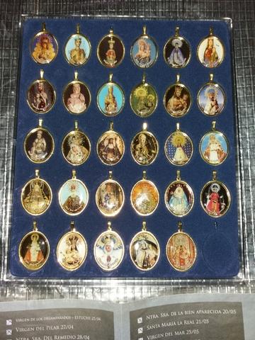 Medallas Virgen