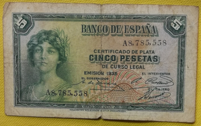 Billetes  Y Sellos De España