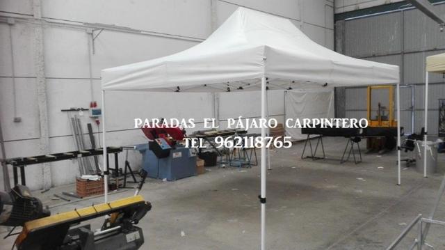CARPA PLEGABLE REFORZADA 3X4. 5 - foto 1
