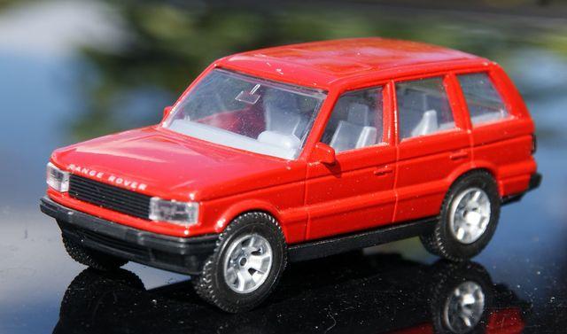 Range Rover Escala 1:43 De Burago Modifi