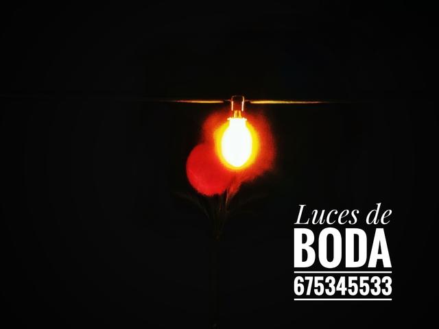 LUCES PARA BODAS - foto 1