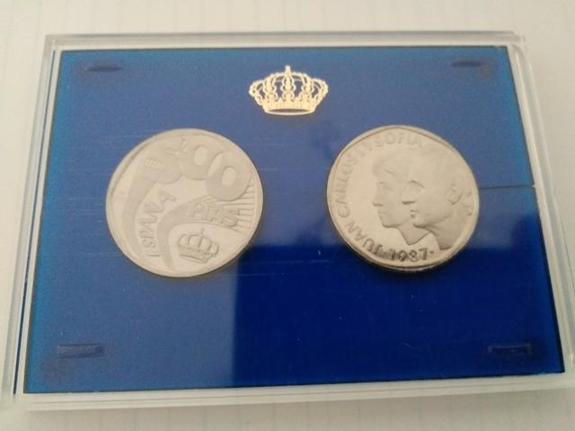 Monedas 500 Pesetas Acero