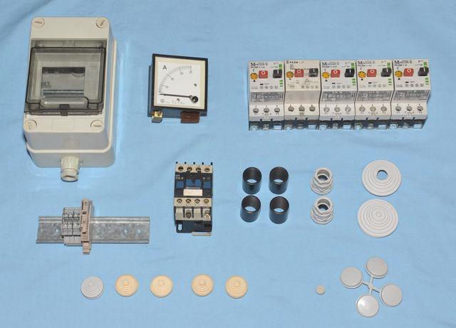 Lote De Material Electrico Industrial