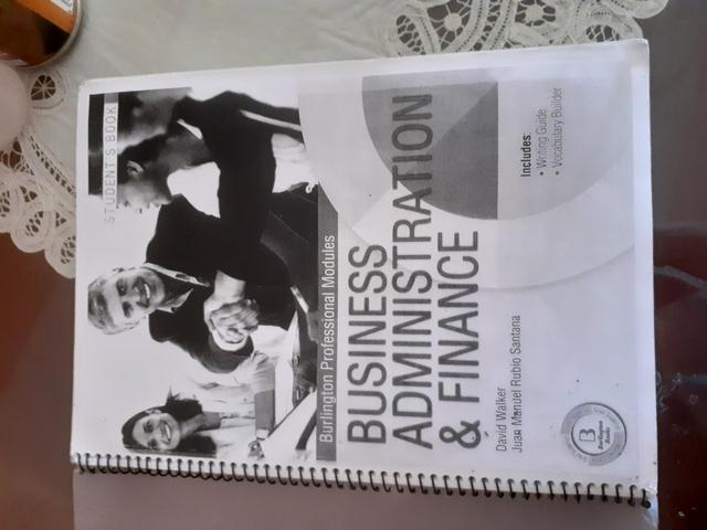 BUSINESS ADMINISTRATION & FINANCES 1 - foto 1