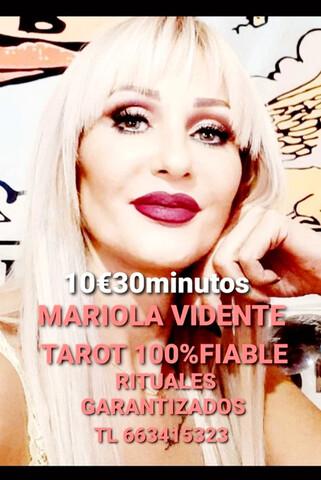 MARIOLA VIDENTE TAROT AMARRES EFECTIVOS - foto 1