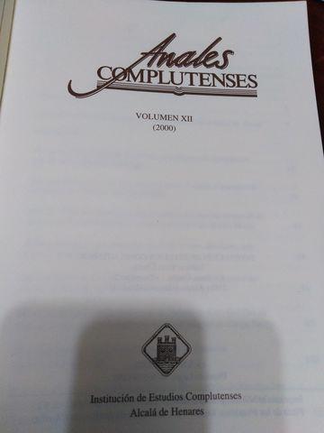 OBRAS COMPLETAS - ESTUDIOS COMPLUTENSES - foto 4