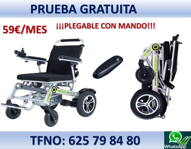sillas de ruedas electricas plegables en lorca