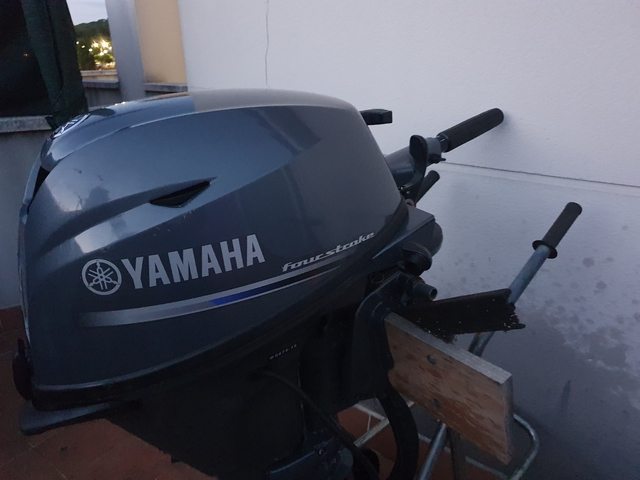 MOTOR FUERABORDA YAMAHA 15CV 4 TIEMPOS - foto 7