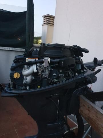 MOTOR FUERABORDA YAMAHA 15CV 4 TIEMPOS - foto 9