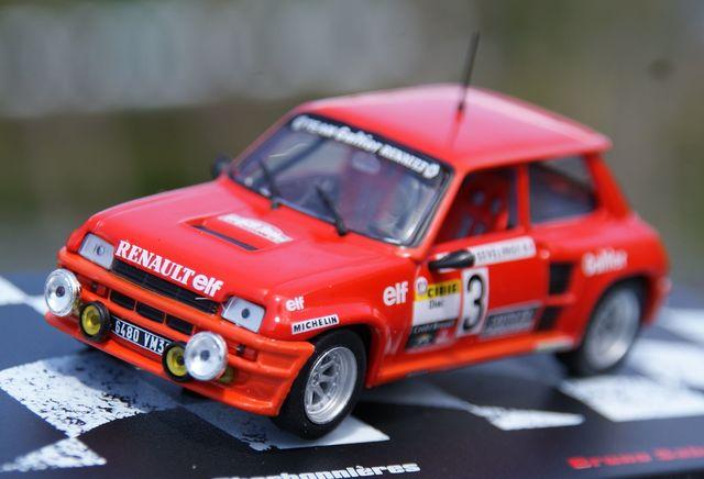 Renault 5 Turbo Rallye Lyon Charbonniere