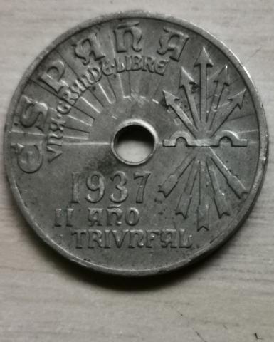 Moneda De 25Cm