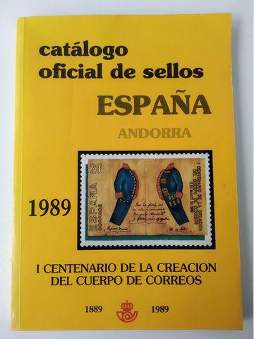 Catálogo Oficial De Sellos España 1989