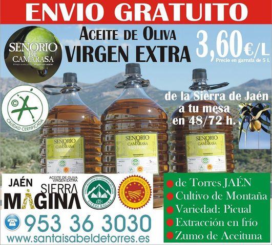 ACEITE DE OLIVA VIRGEN EXTRA DESDE #JAÉN - foto 1