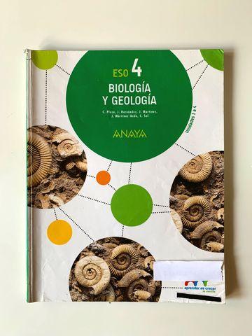 Mil Anuncios Com Libro De Biología Y Geología 4º Eso