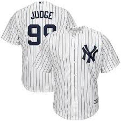 CAMISETA MLB YANKEES JUDGE BLANCA - foto 1