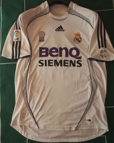 Camiseta Real Madrid David Beckham
