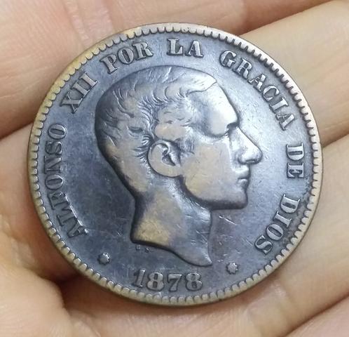 Moneda 10 Centimos 1878 Alfonso Xii