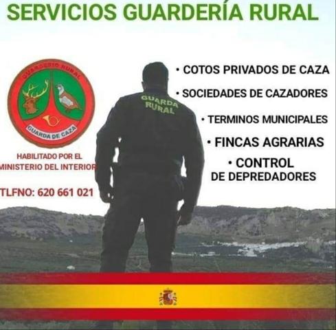 GUARDA RURAL Y CAZA - foto 1