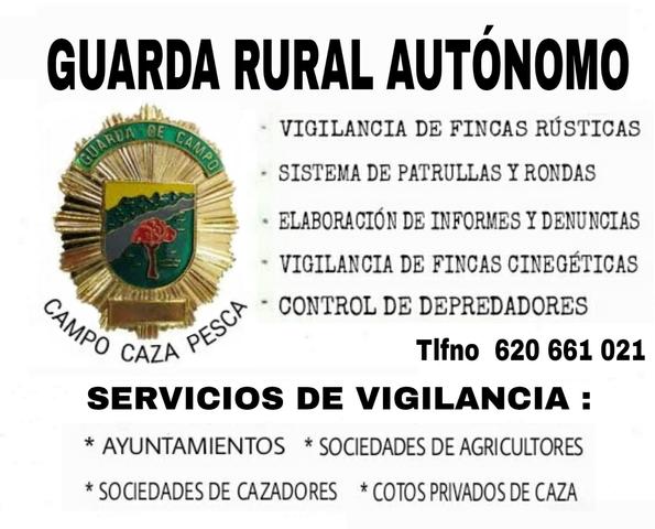 GUARDA RURAL Y CAZA - foto 2