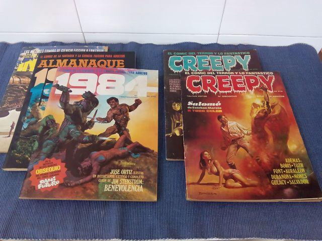 Comics Antiguos 1980