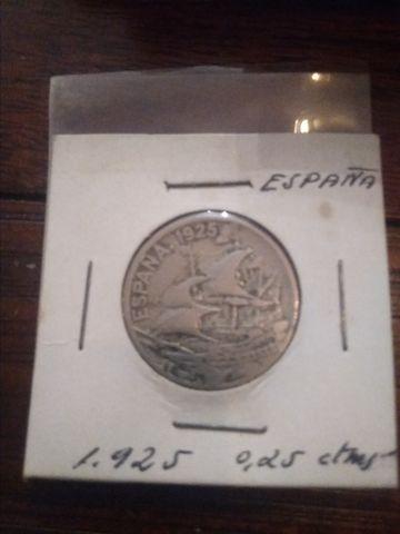 Moneda De 25 Céntimos Alfonso Xiii