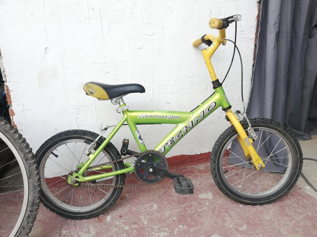 Bicicleta 16 Pulgadas Infantil