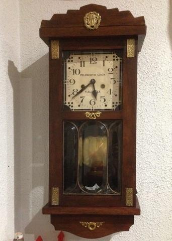 Reloj Pared Antiguo Filiberto Leon 1930