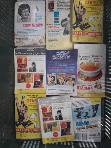 CORIN TELLADO NOVELAS ANTIGUAS - foto 2