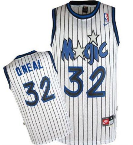 CAMISETA NBA MAGICS 32 BLANCA RETRO - foto 1