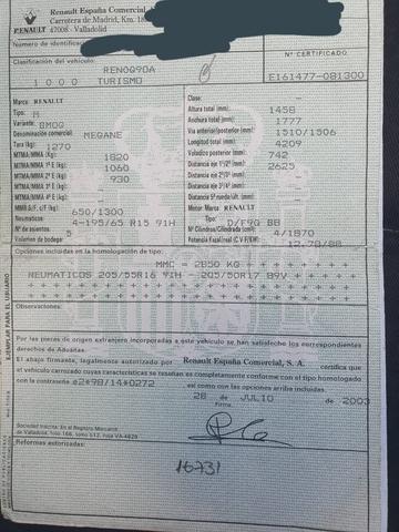 BOMBA INYECCIÓN RENAULT MEGANE II - foto 4