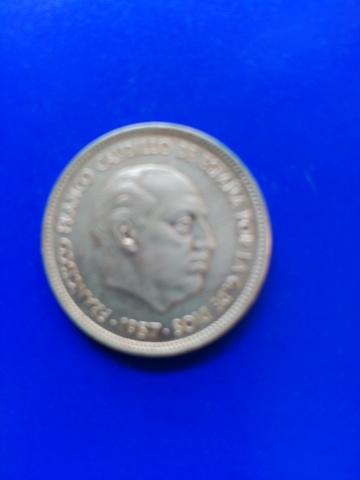 Moneda De 50 Ptas.1957-71